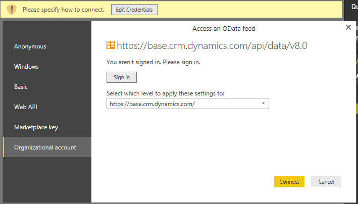 Customize Dynamics 365 for Customer Engagement apps Power BI
