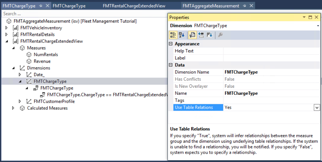 model aggregate data finance operations dynamics 365