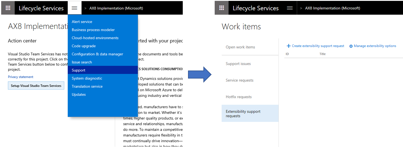 Extensibility requests - Finance & Operations   Dynamics 365