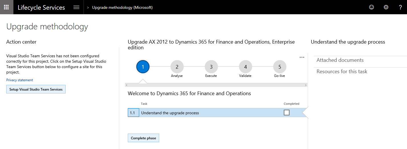 Upgrade from AX 2012 to Finance and Operations - Finance