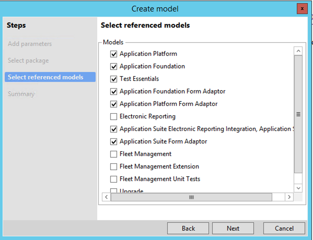 Testing and validations finance operations dynamics 365 model references fandeluxe Choice Image