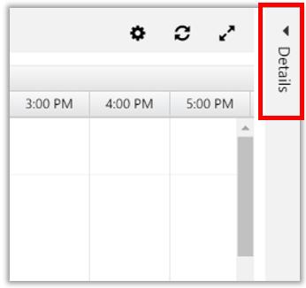 Schedule board details option