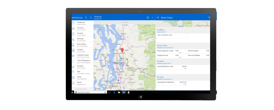 Overview of Field Service for Dynamics 365 for Customer