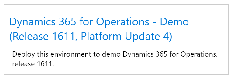 whats new or changed in dynamics 365 for operations