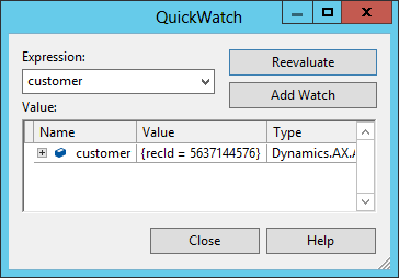QuickWatch_LinqC