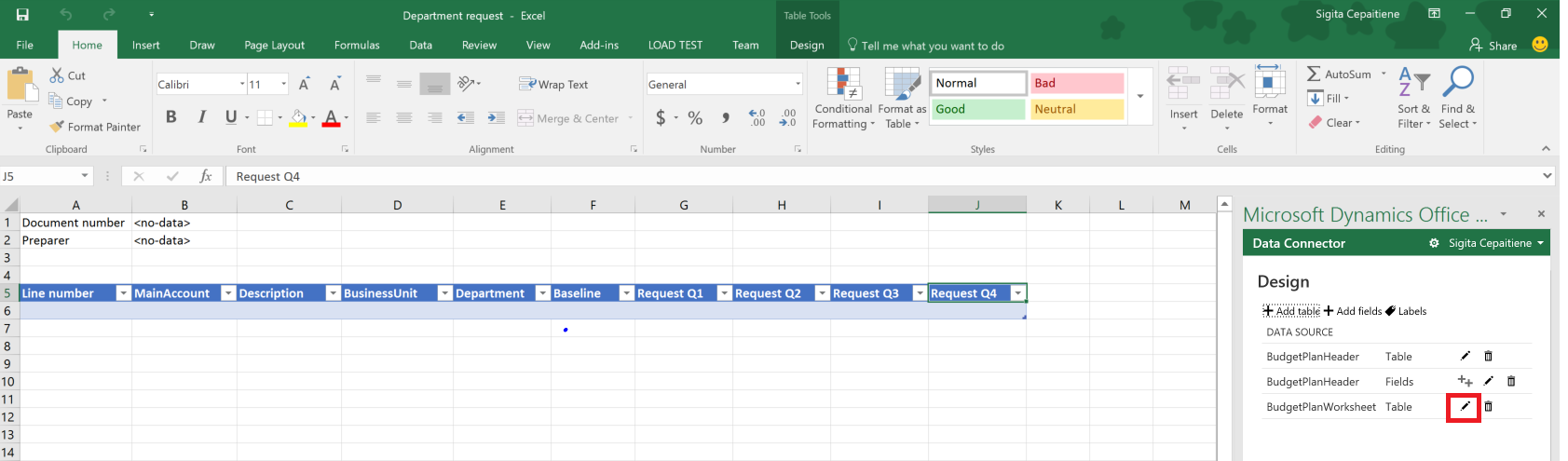 microsoft templates for excel