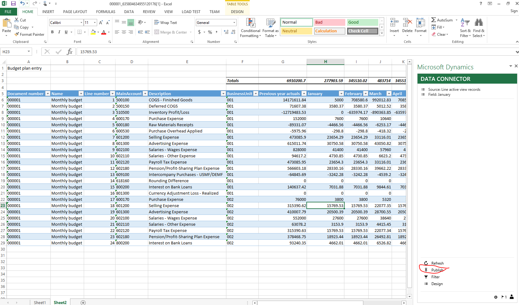 budget planning finance operations dynamics 365 msdyn365fo