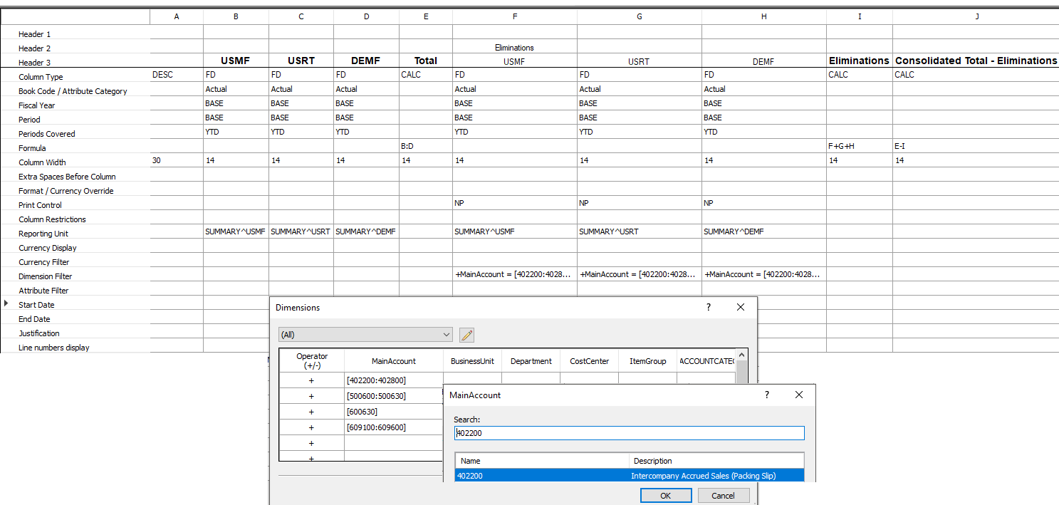 Generate Consolidated Financial Statements Finance Operations