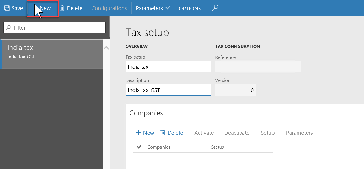 Tax Engine Finance Operations Dynamics 365 Msdyn365fo