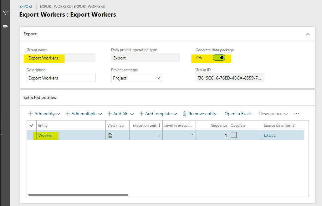 Export Workers data project