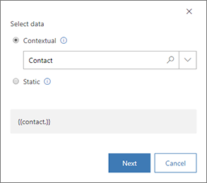 Add dynamic content to marketing emails (Dynamics 365