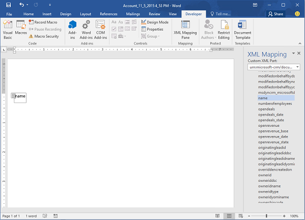 Create And Deploy Word Templates Dynamics 365 Marketing