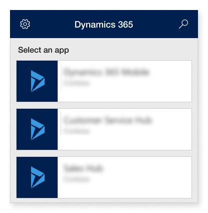 Sign in to Dynamics 365 for phones and tablets using your email