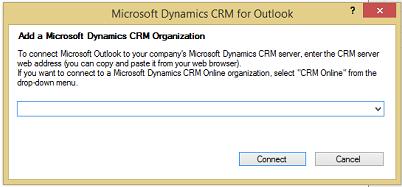 Add a Dynamics 365 Organization dialog box