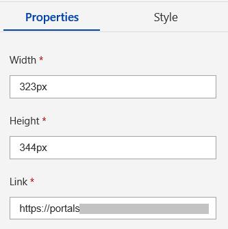 IFrame properties