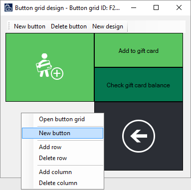 External gift card support finance operations dynamics 365 when the grid designer appears right click on an empty gray area and then select new button negle Gallery