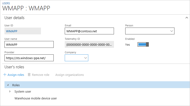 Install and configure the warehousing app overview - Finance