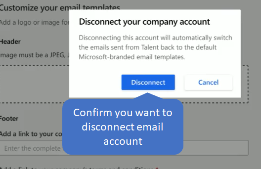 Configure email settings in Microsoft Dynamics 365 for Talent