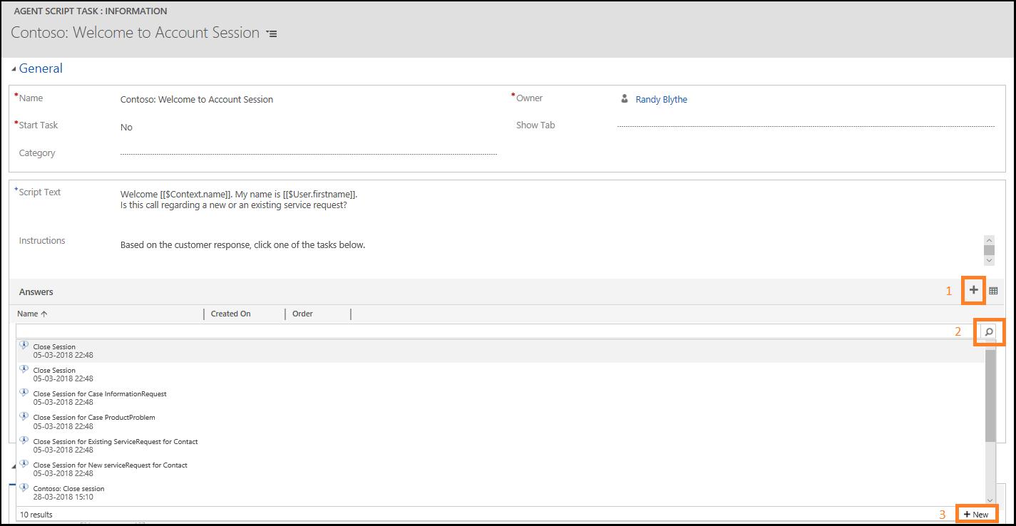 Walkthrough 7: Configure agent scripting in your agent
