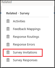 Distributing A Survey Using Voice Of The Customer Microsoft Docs