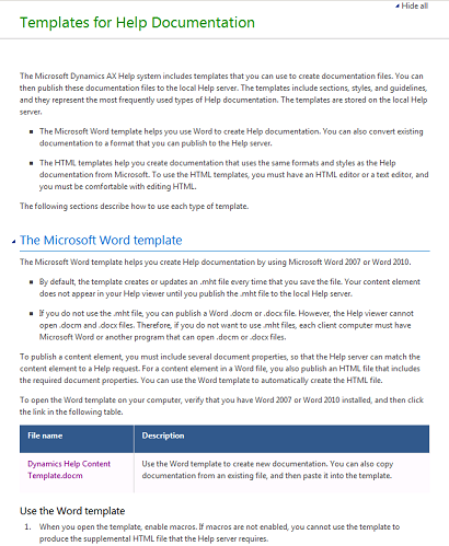 Walkthrough: Publishing Help Documentation | Microsoft Docs