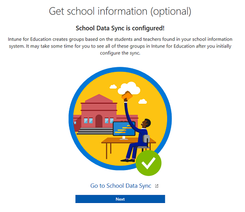 Use Intune for Education to manage groups, apps, and