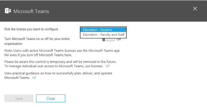 Enable Microsoft Teams for your school | Microsoft Docs