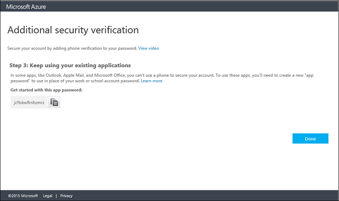 How to enroll in multi-factor authentication | Microsoft Docs
