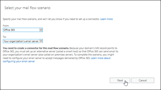 Scenario Integrate Office 365 with an email add-on service
