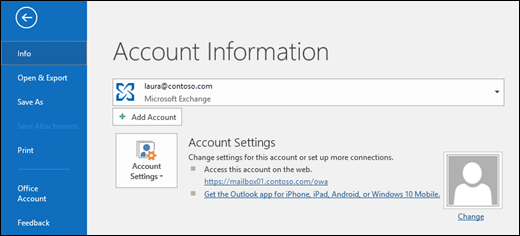 Outlook on the web in Exchange Server | Microsoft Docs