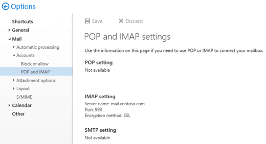 Enable and configure IMAP4 on an Exchange server | Microsoft