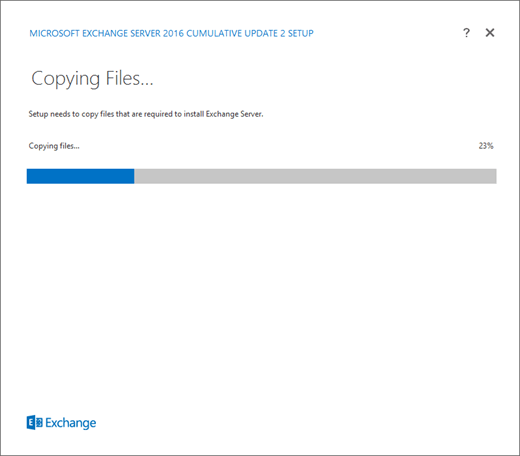 Upgrade Exchange to the latest Cumulative Update | Microsoft