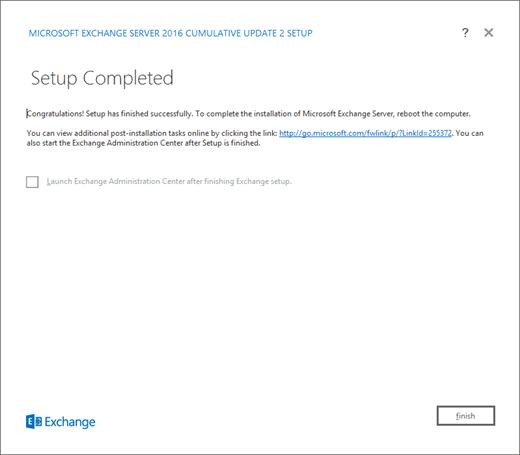 Upgrade Exchange to the latest Cumulative Update | Microsoft