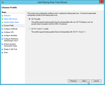 Use AD FS claims-based authentication with Outlook on the