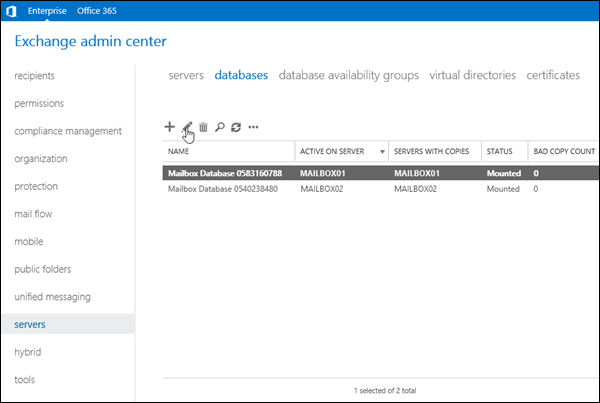 Microsoft Exchange Address Book