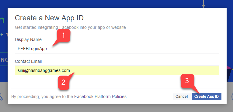 Setting up PlayFab authentication using Facebook and Unity - PlayFab
