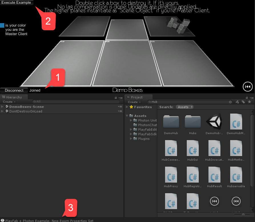 Photon quickstart - PlayFab   Microsoft Docs