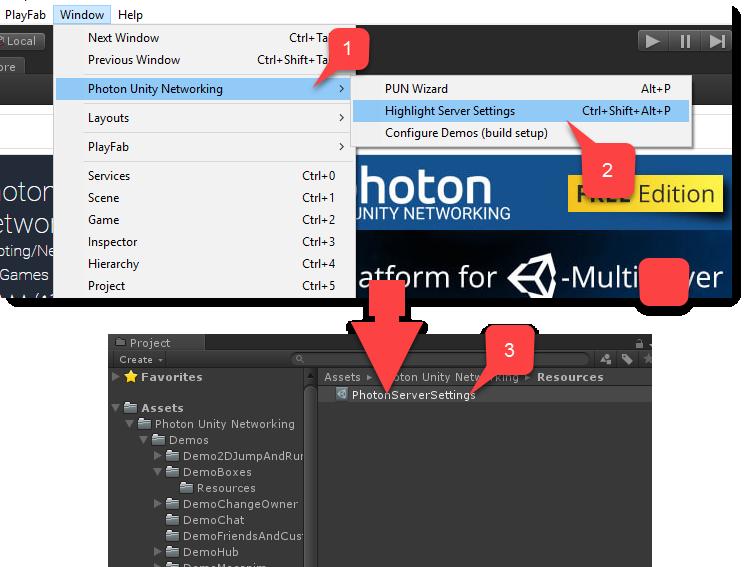 Photon quickstart - PlayFab | Microsoft Docs