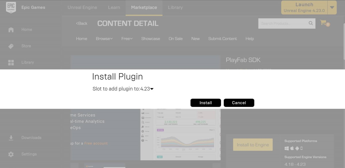 Unreal Engine quickstart - PlayFab   Microsoft Docs