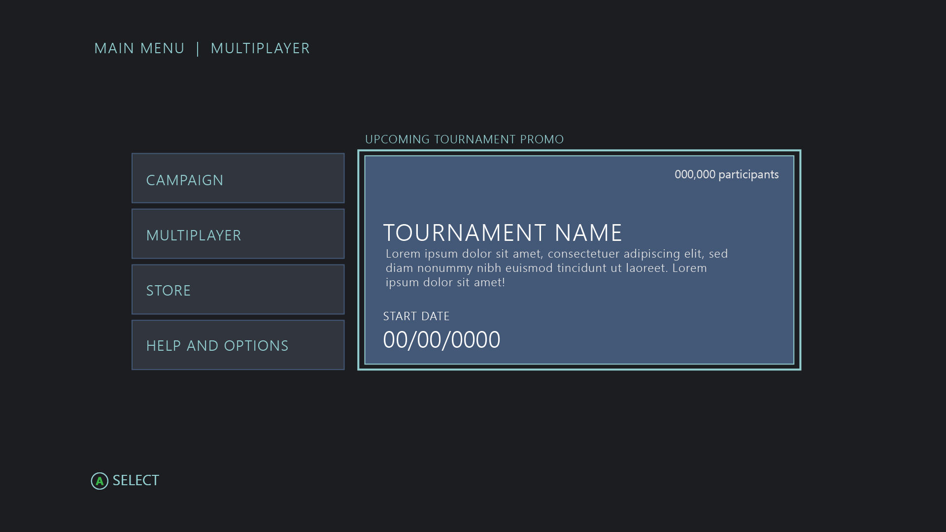 UX for discovering Xbox tournaments - Xbox Live | Microsoft Docs