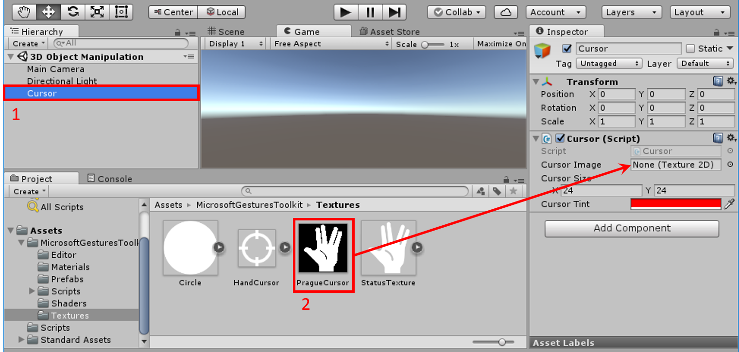 3D Object Manipulation - Scene Preparation | Microsoft Docs