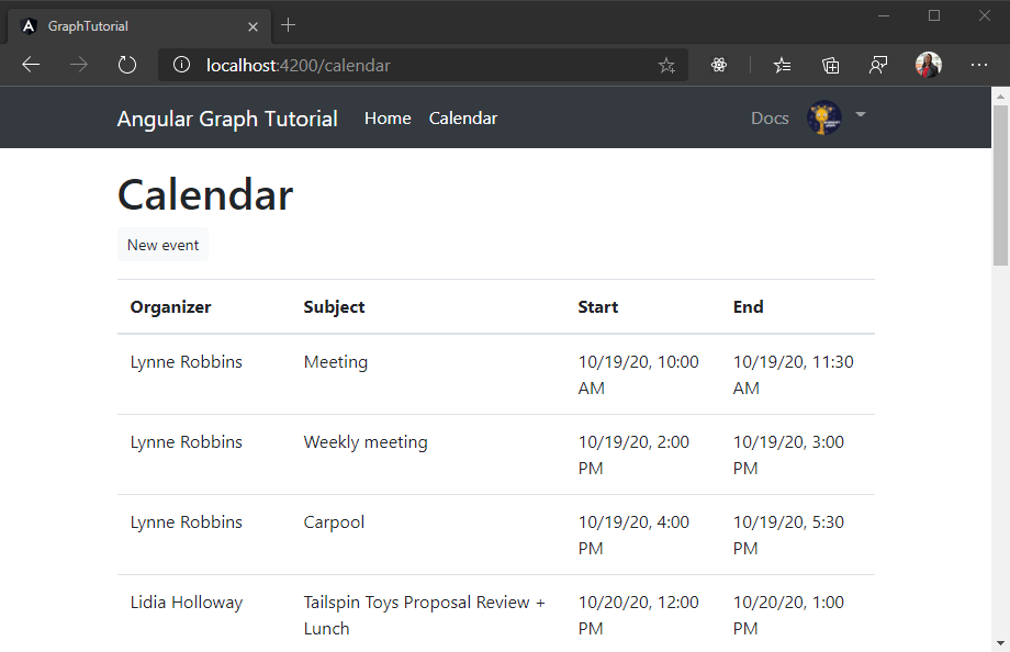 Build Angular single-page apps with Microsoft Graph - Microsoft