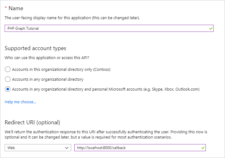 Build PHP apps with Microsoft Graph - Microsoft Graph   Microsoft Docs