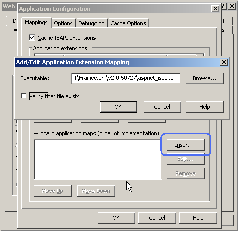 Wildcard script mapping and IIS 7 integrated pipeline | Microsoft Docs
