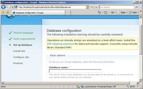 Install Drupal on IIS | Microsoft Docs