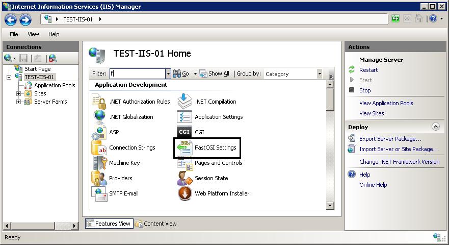 Using FastCGI to Host PHP Applications on IIS 7 | Microsoft Docs