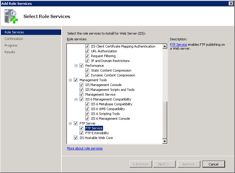 FTP Custom Features <customFeatures> | Microsoft Docs