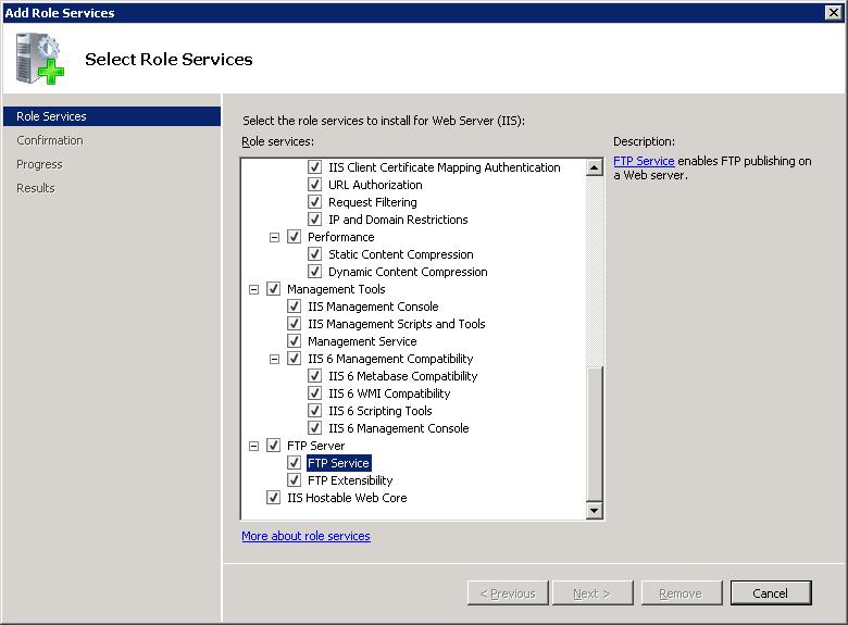 FTP Firewall Support <firewallSupport> | Microsoft Docs