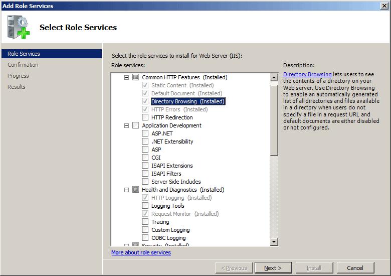 directory slet cum