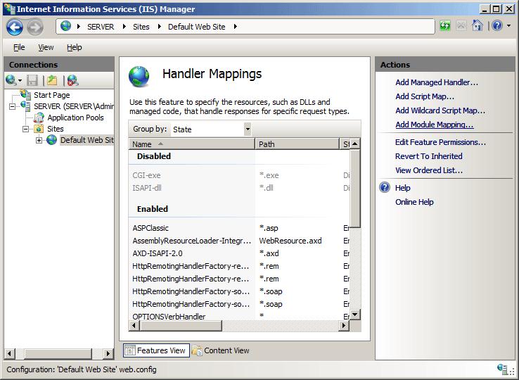 FastCGI Application <application> | Microsoft Docs